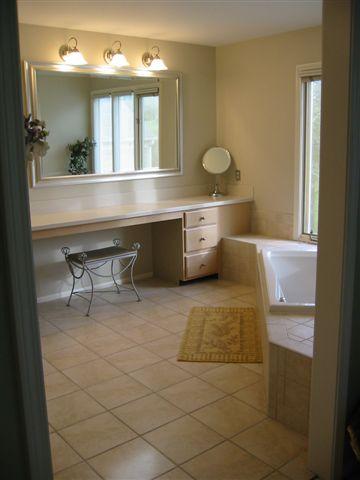 Bathroom flooring babcock 39 s vermont carpet gallery for Bathroom floor covering