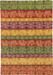 mughal stripe area rug