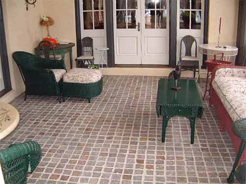 vinyl tile porch flooring vermont